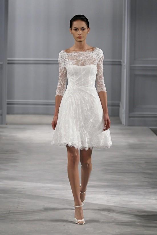 Monique Lhuillier vestidos coleccion 2014 - Vignette