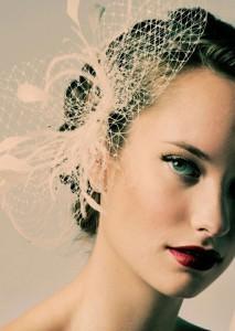 Maquillaje de ojos para novias retro