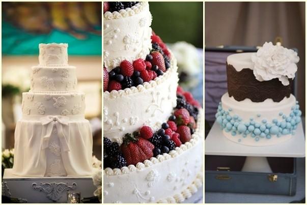 Los Preparativos para una boda incluyen la decision de la cobertura del pastel de boda