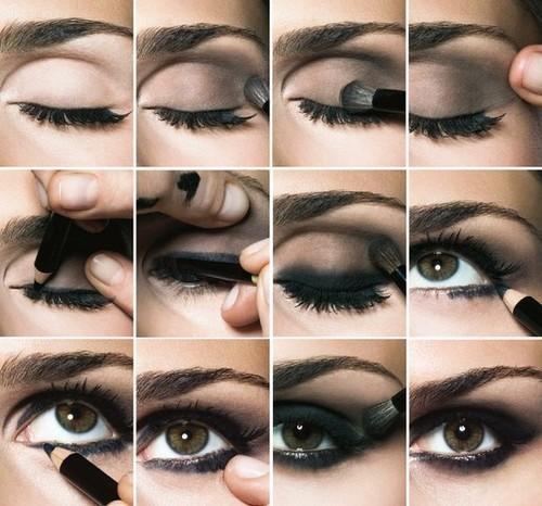 Como maquillarse los ojos