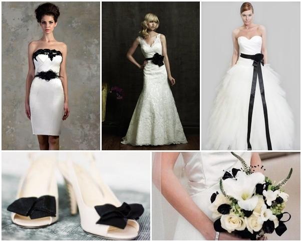 Decoraciones para bodas blanco negro realizar esta tattoo - Decoracion salon blanco y negro ...