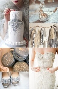 la boda 2014 en color plata