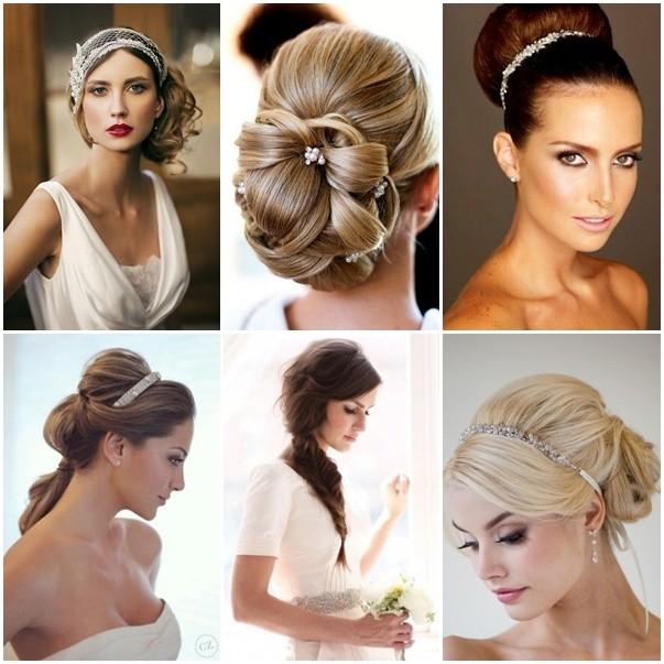 Peinados para novias con cabello largo mas ideas ac for Recogidos de famosas para bodas