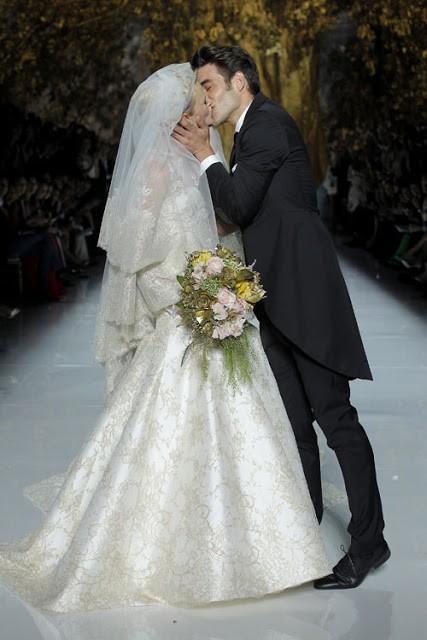 Vestidos de novia 2014 de Pronovias final del desfile
