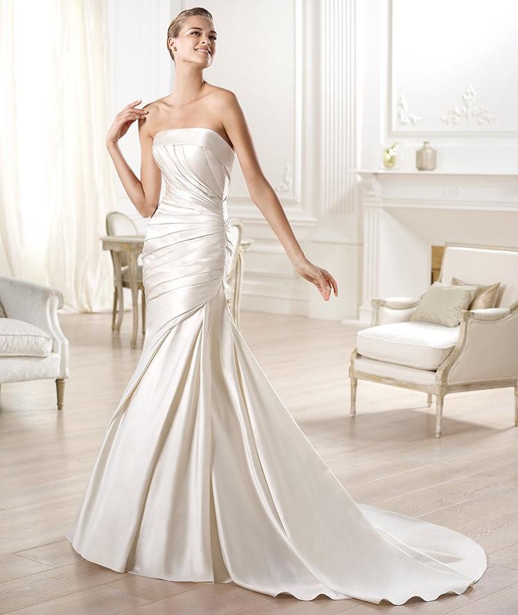 Vestidos de novia 2014 de Pronovias vintage - Modelo Ocelo