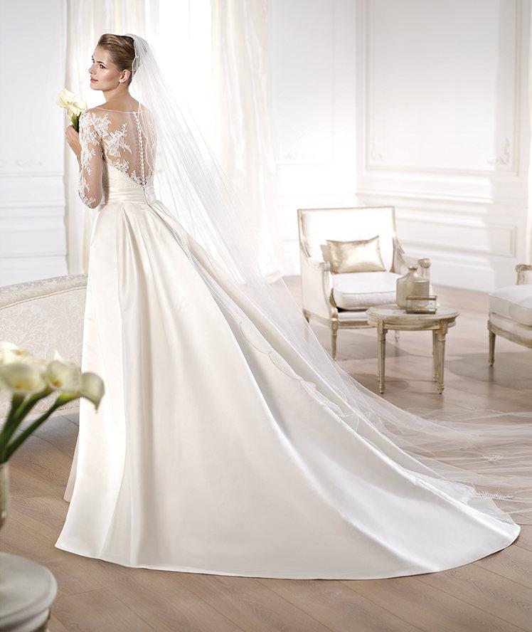 Vestidos de novia 2014 de Pronovias vintage - Modelo Odette Pronovias