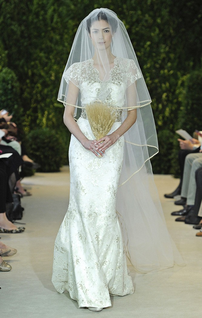 936cc0bd22f Vestidos de Novia de Carolina Herrera 2014 - busca tu estilo