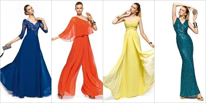 Vestidos para Madrinas de Boda - Pronovias 2014