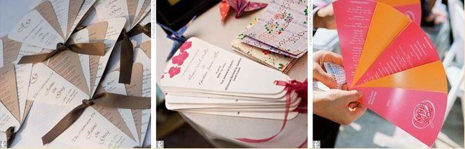 Abanicos desplegables para bodas en verano