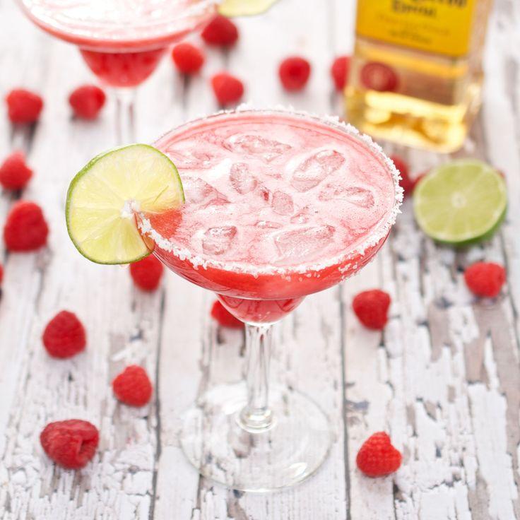 Bebidas exóticas con tequila: Margarita de frambuesas, una divertida variante