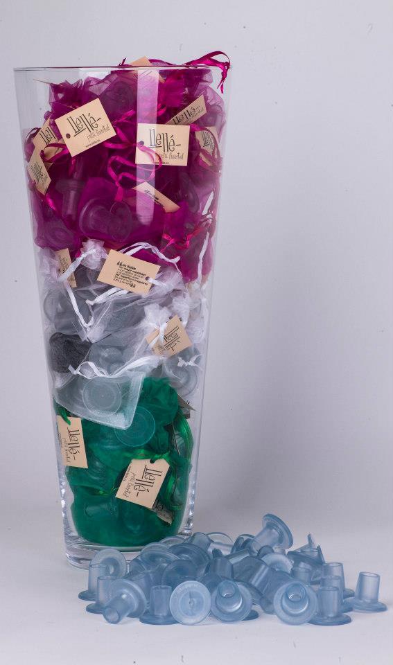 Souvenirs de casamiento Llelles personalizados