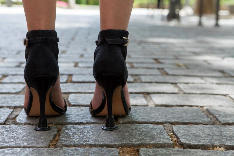 zapatos de tacon con tapones Llelle