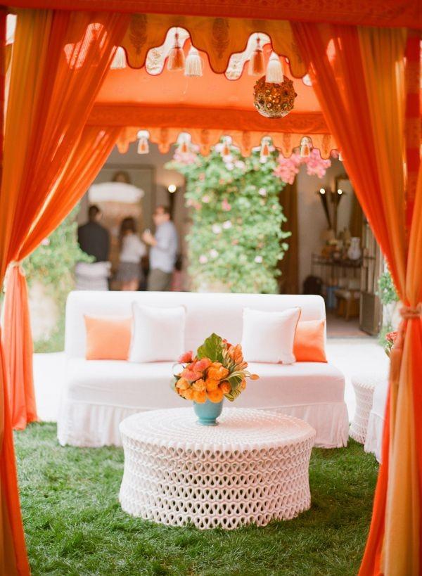 Imágenes de jardines para bodas temáticas con livings