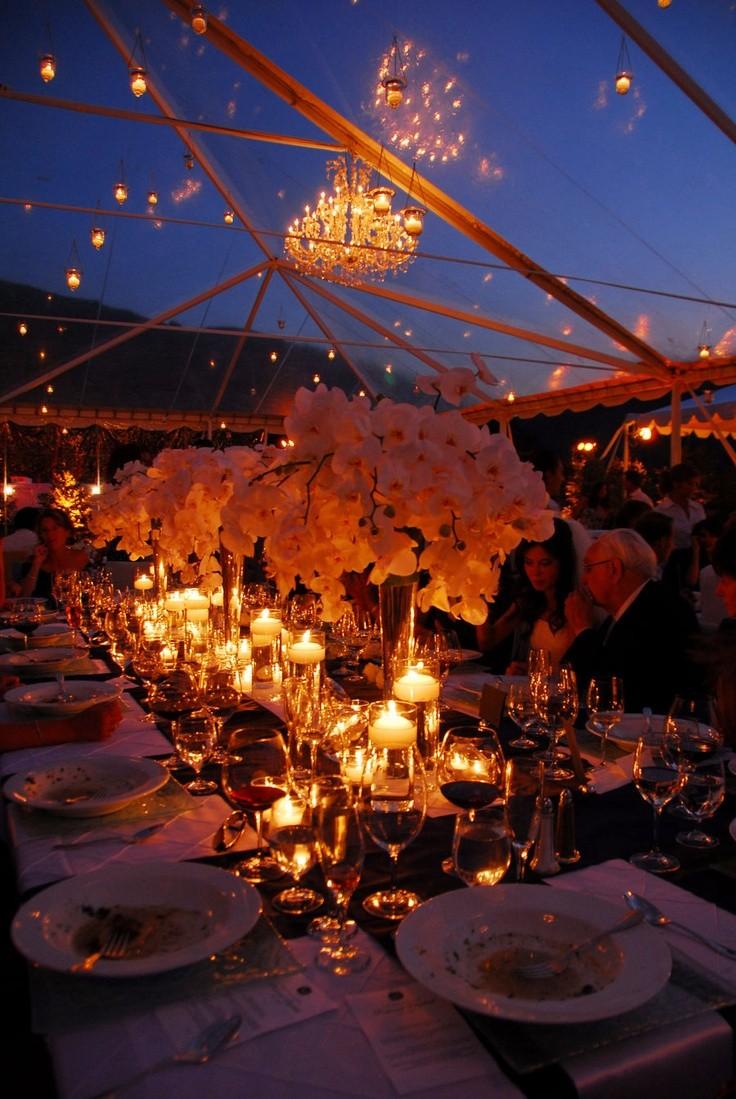Más imágenes de bodas sorprendentes al aire libre