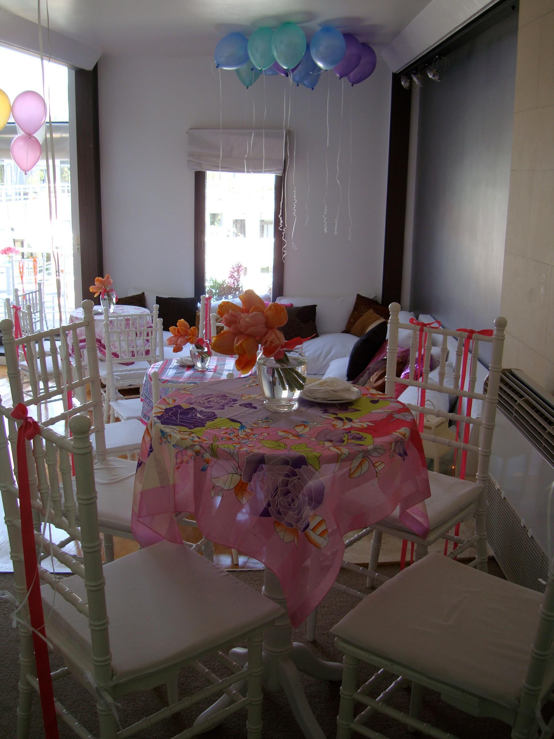 Globos decorativos para bodas:  Y por qué no incluirlos en un briday tea??!! - por Ramiro Arzuaga