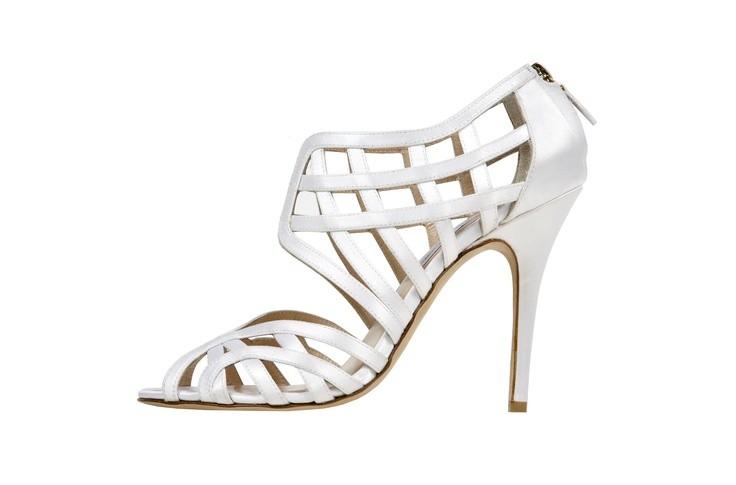 Zapatos para novia de Monique Lhuillier