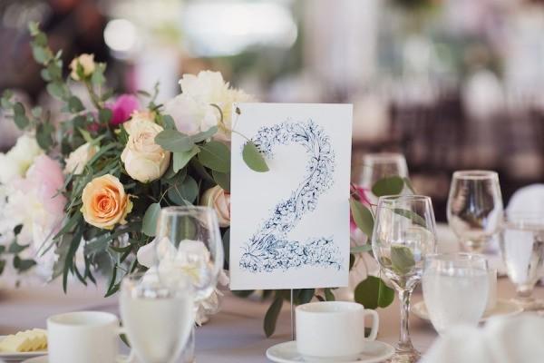 Numeros para mesas y decoracion de mesas para bodas - Mesa shabby chic ...