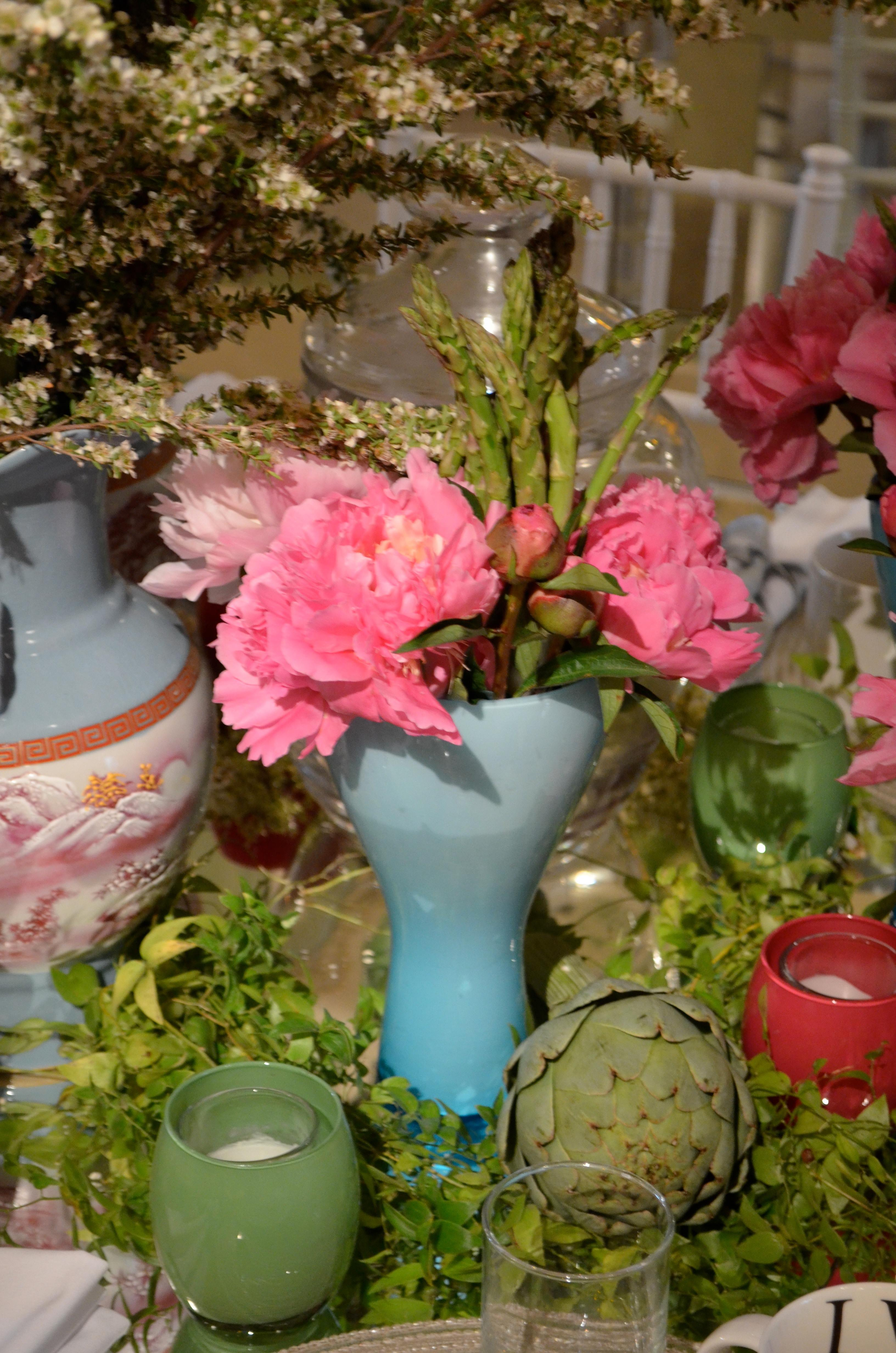 Centros de mesa originales y arreglos de mesa para bodas for Mesas centro originales