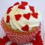 CUpcakes de san valentin