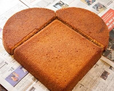 Receta: Cómo hacer un pastel en forma de corazón