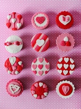 Galletas de los enamorados: A jugar con la imaginación con estas galletas románticas!