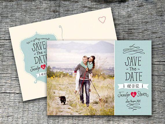 Save the Date en forma de postal
