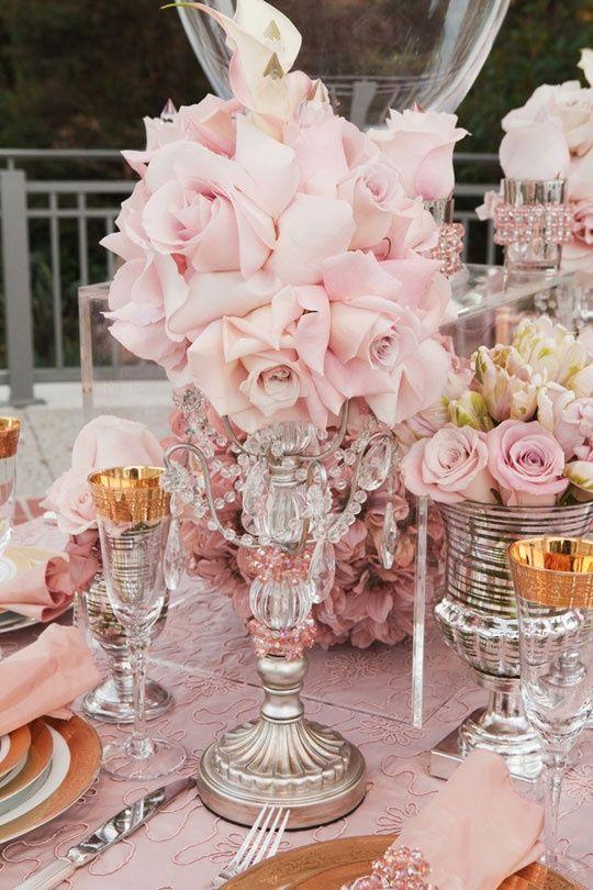 Colores de bodas: el rosa El color de una novia romántica y con mucha personalidad