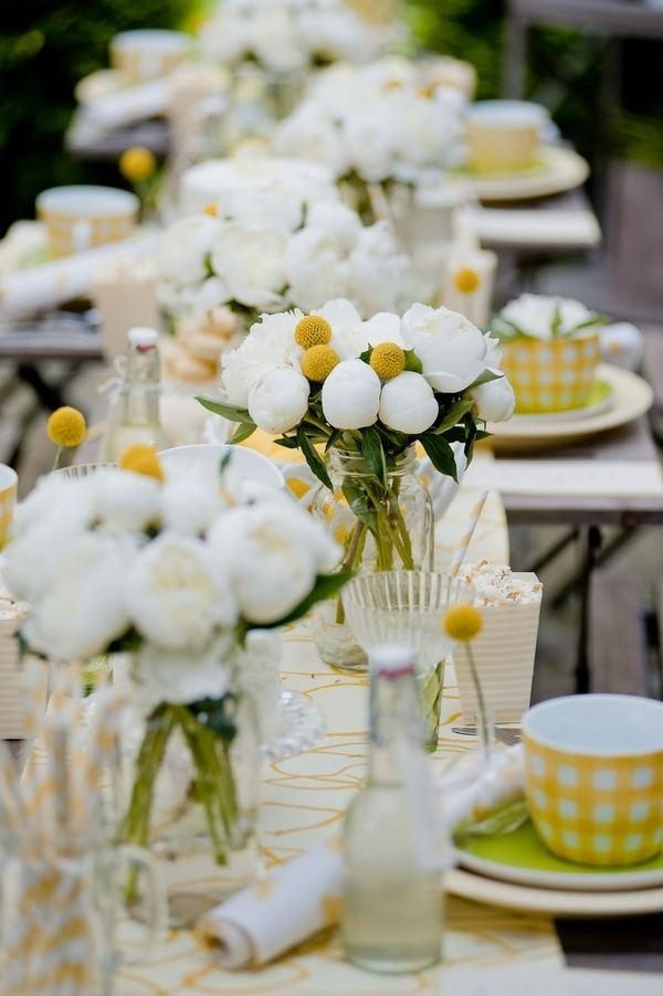 Los amarillos como colores de bodas - El color más positivo de todos!