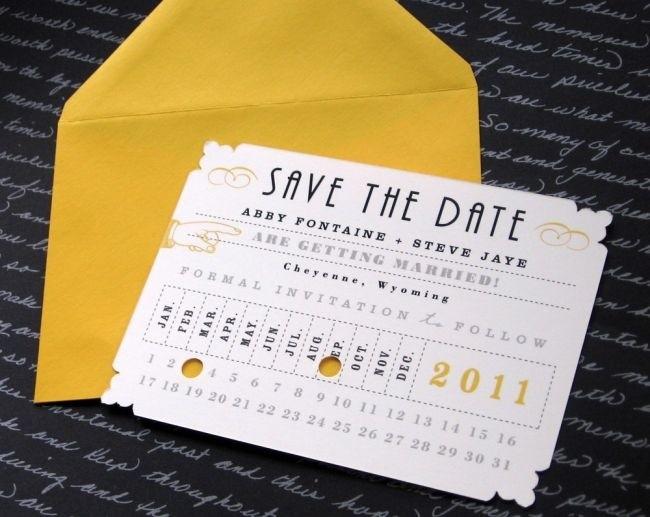 Save the Date con todos los datos esenciales