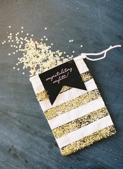 Confetti de bodas glitter