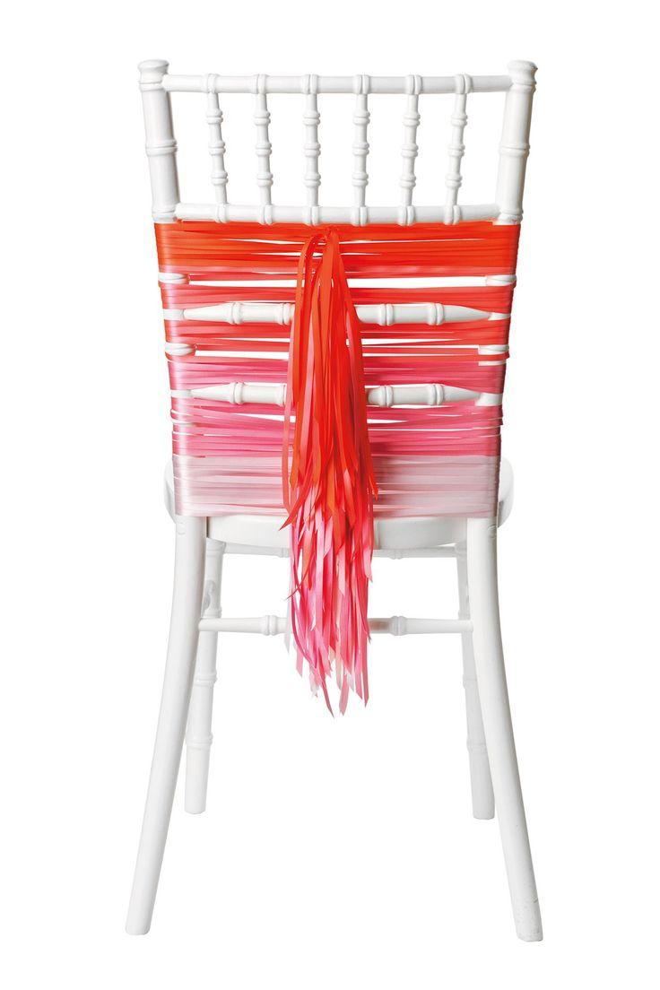 Manualidades para bodas originales ac est n for Decoracion de sillas para 15