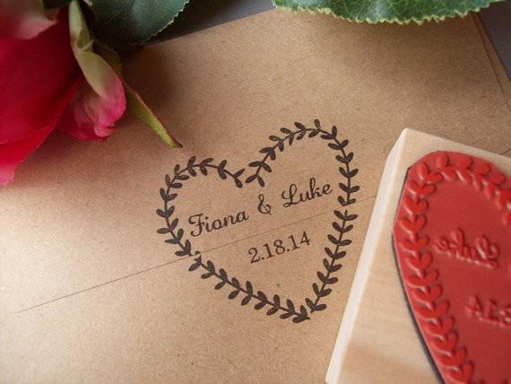 invitaciones boda originales y sobres con sello personalizado