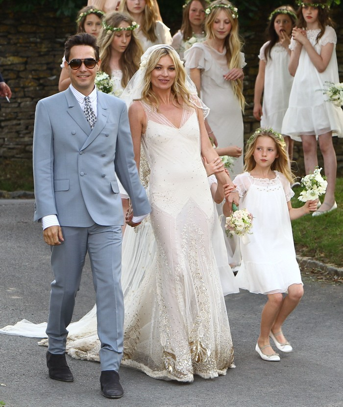 Vestidos de boda boho chic