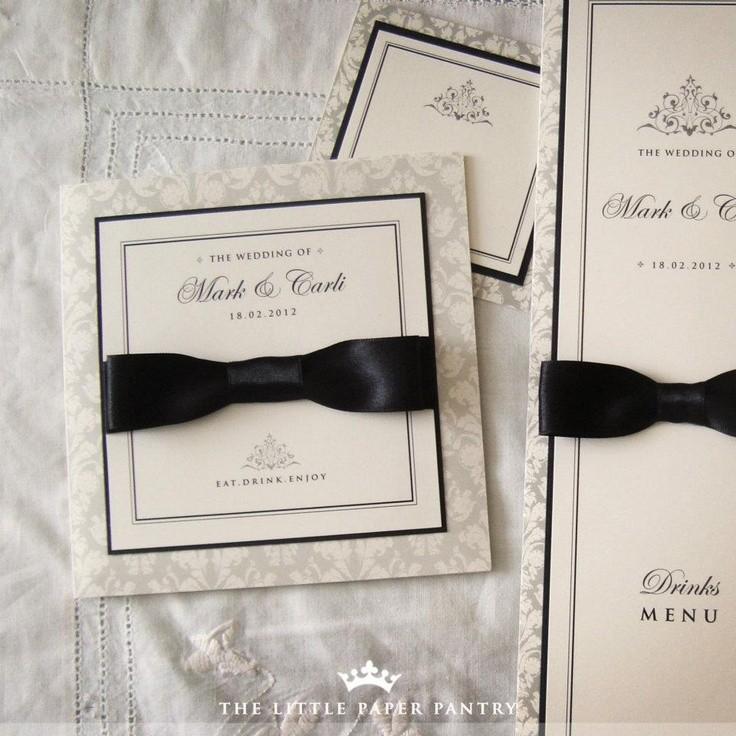 Invitaciones de boda elegantes y originales solo para ti - Detalles de boda elegantes ...
