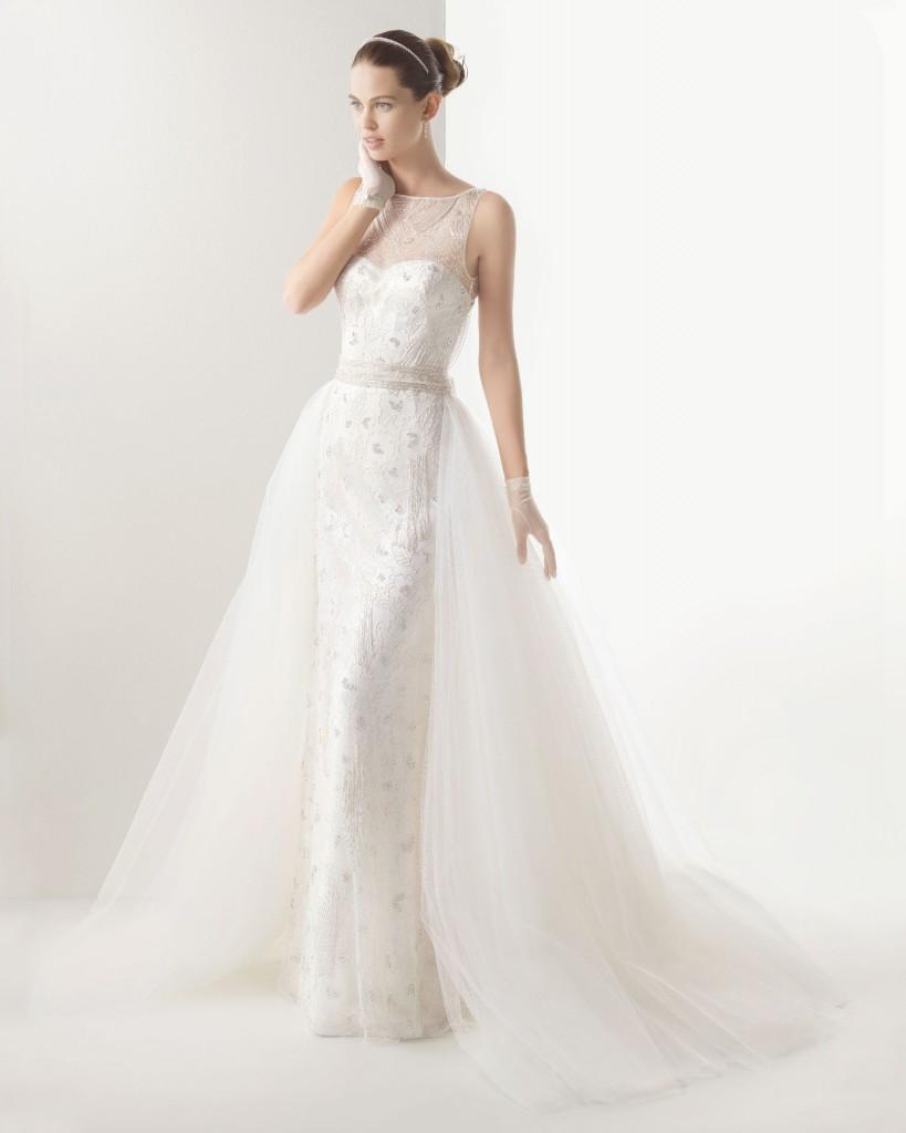 """""""Claudia"""" colección rosa clara wedding dresses 2014"""