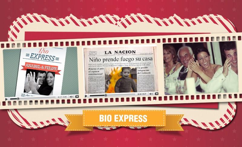 La Bio Express, un Profile o una película de dibujos animados: Historia Animada, es un video de alto impacto y originalidad.