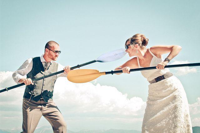 Las novias neuroticas siempre se pelean con el novio