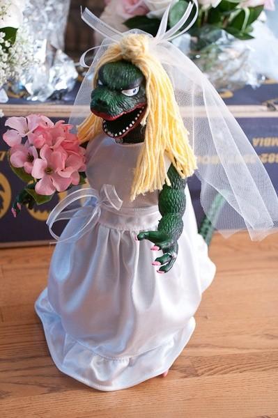 Las novias neuroticas son conocidas como Bridezillas en Estados Unidos