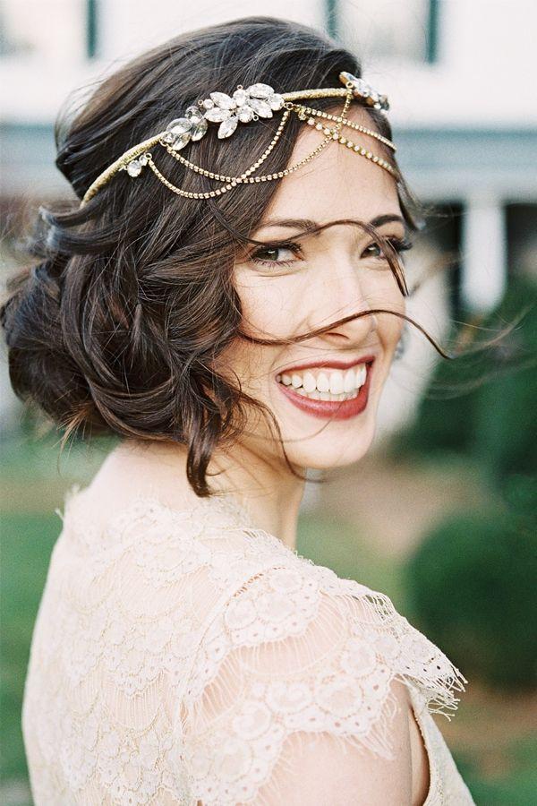 La fiesta de tus suenios 5 peinados de novia modernos para hacer t misma - Peinados para hacerse una misma ...