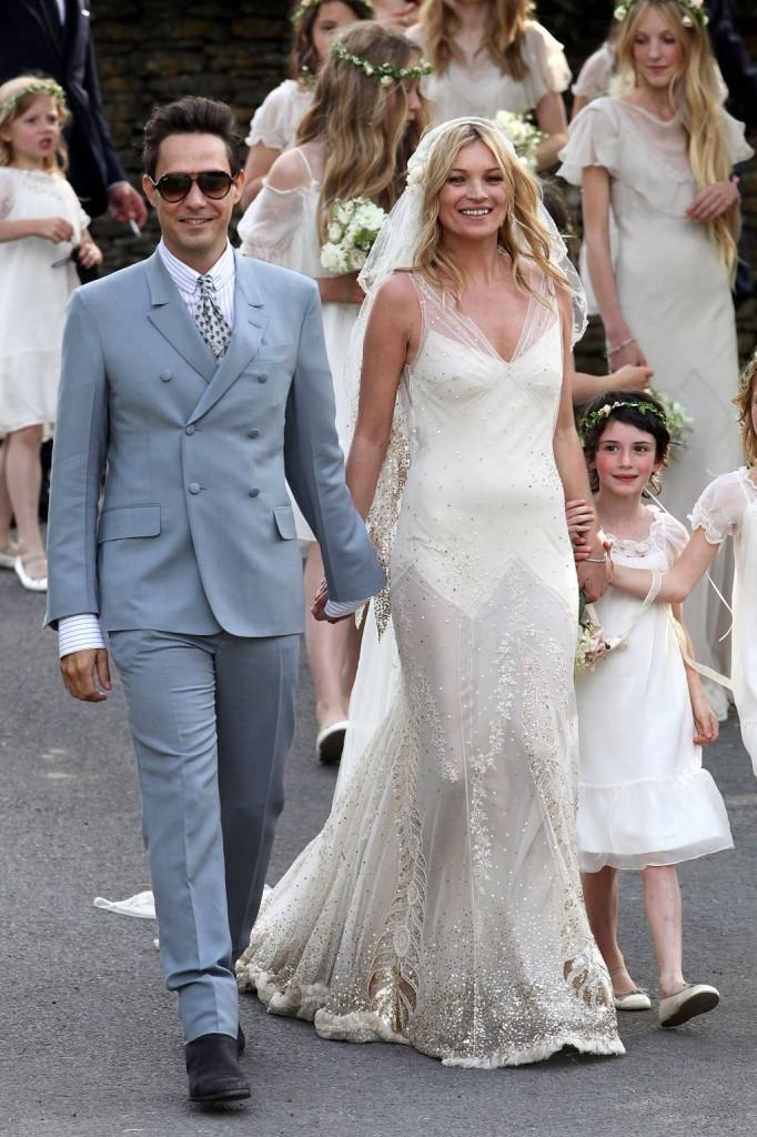 Vestidos de novia 2014: la inspiración del estilo de Kate Moss