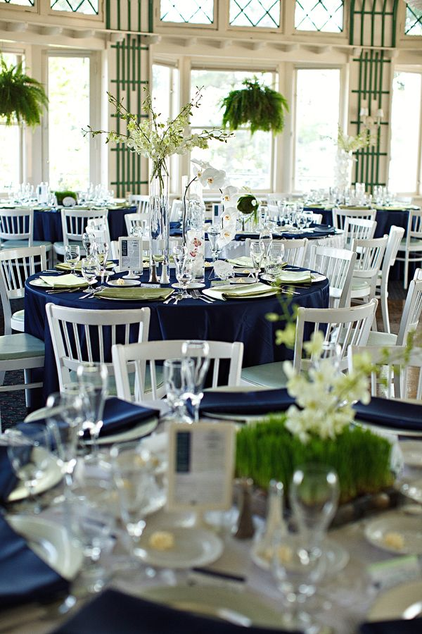 Bodas en azul con ejemplos de decoraci n llena de encanto - Manteles originales ...