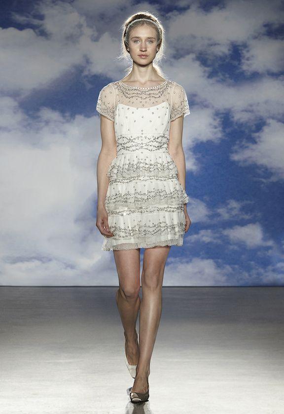 Vestido de novia para boda civil de Jenny Packham