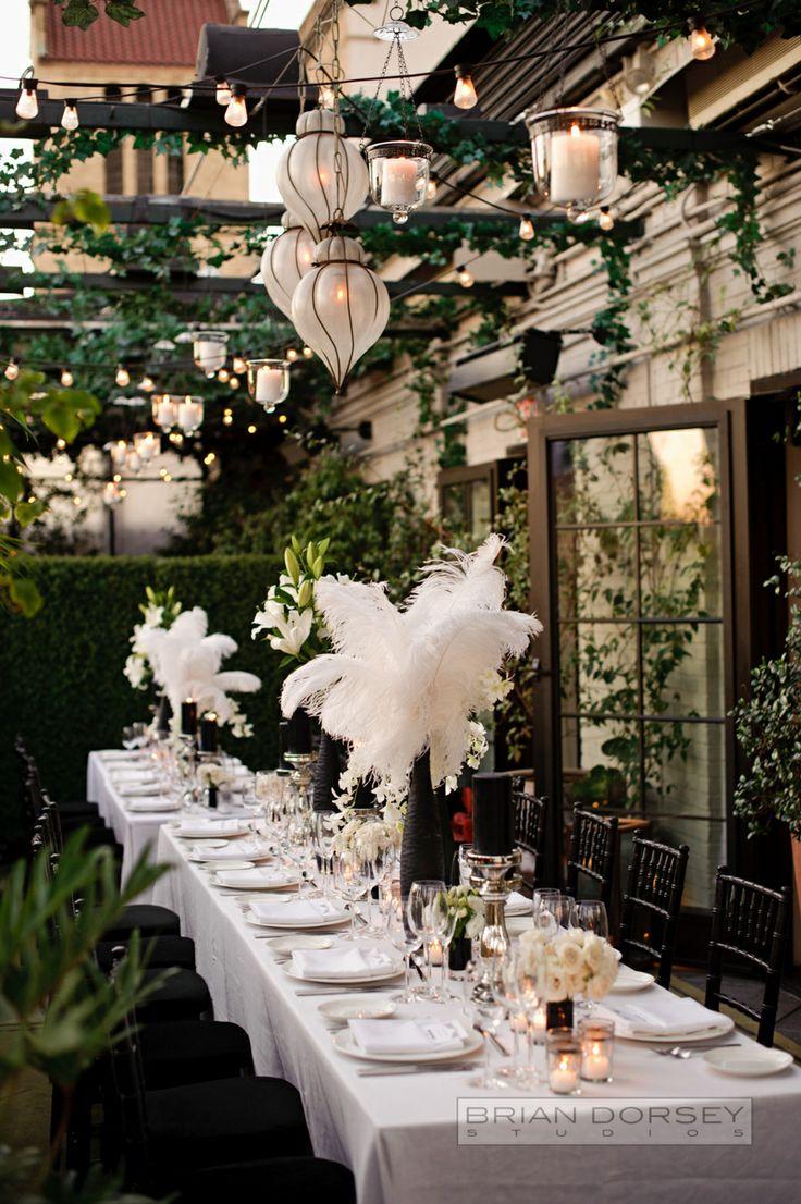Centros de mesa para boda en jardin espectaculares fotos for Ambientacion para bodas