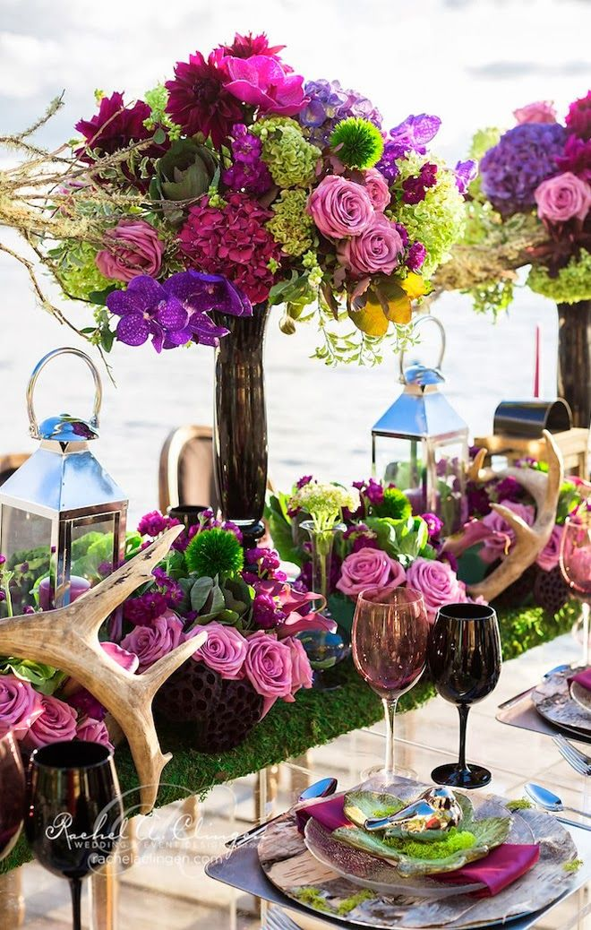 Centros de mesa para boda en jardin espectaculares fotos Arreglos de jardines