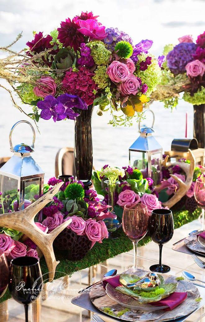 Centros de mesa para boda en jardin espectaculares fotos for Arreglo de boda en jardin