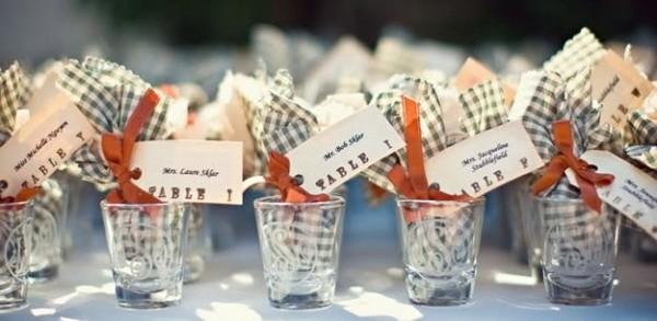 Vasos de shots de tequila para festejar una boda única!