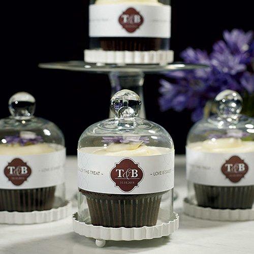 Cupcakes como souvenirs de bodas. El recuerdo más elegante de todos!