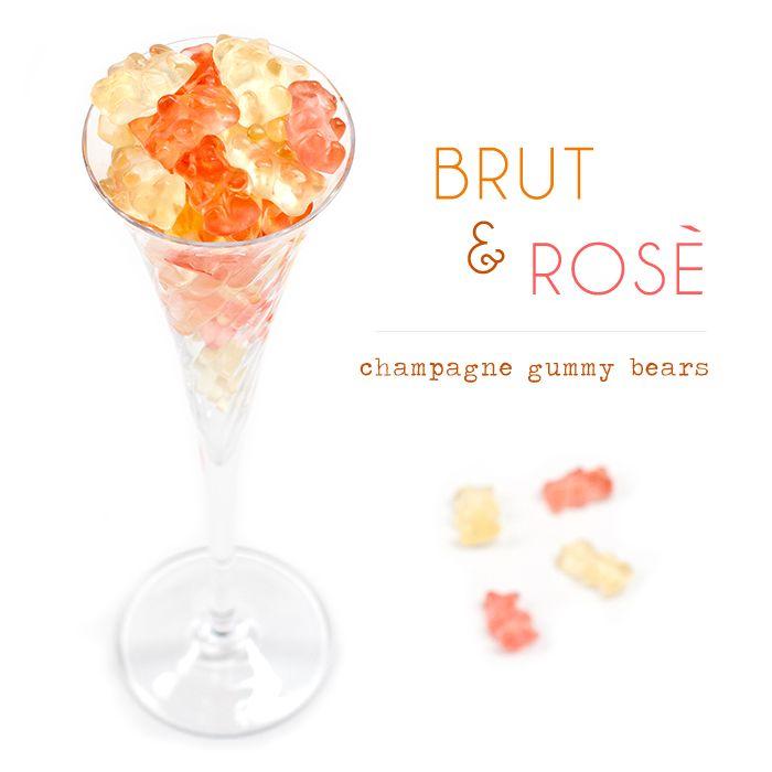 Osos de champagne brut y rosé y 11 souvenirs originales mas!