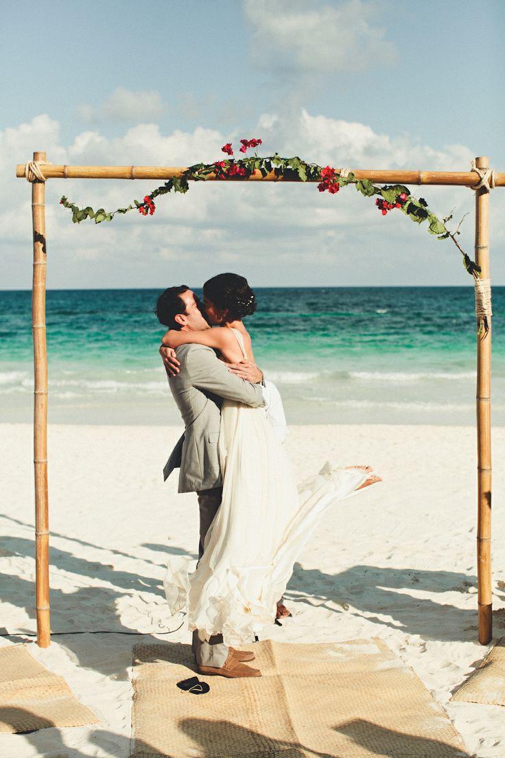 Las playas de México son el mejor lugar para festejar tu boda