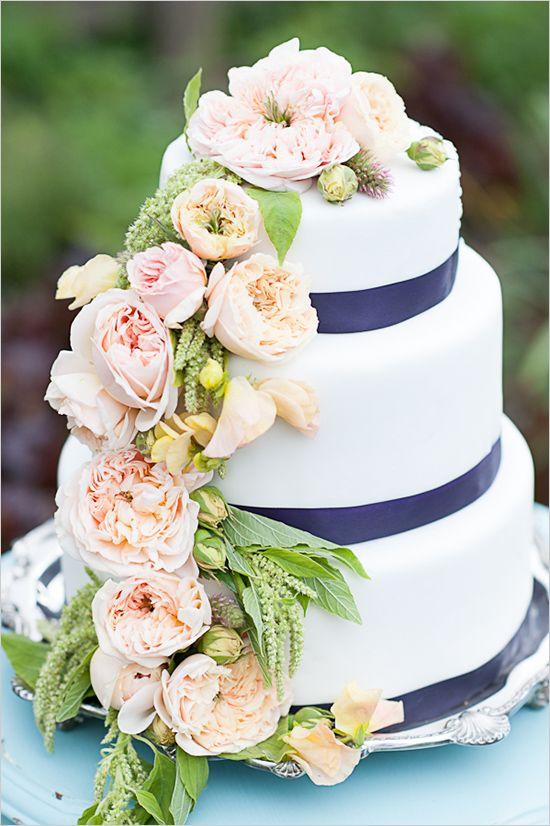 Ivory Wedding Ribbon For Cake D